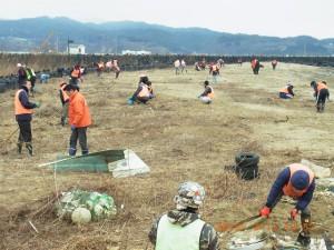 2015/2/11千岩田海岸にて2
